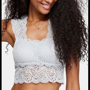 Free People Chase Me Lace Pullover Brami